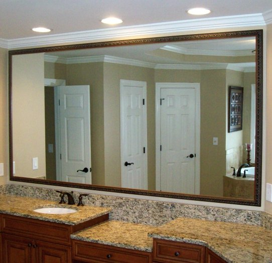 How to SAVE TIME AND MONEY on mirror framing in Midtown Atlanta?