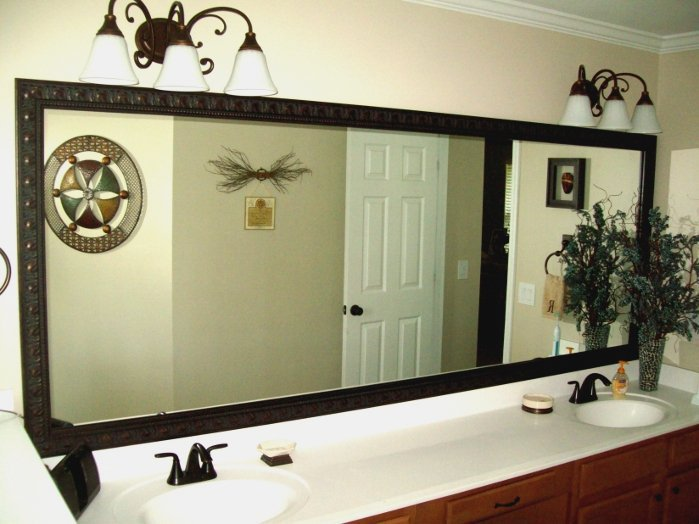 Johns Creek Mirrors, Frame for mirrors stuck to walls in Johns Creek GA, Frame Existing Mirrors Johns Creek Georgia, How to frame mirrors already stuck to walls in Johns Creek GA, Pictures Plus Incorporated, (678) 468-0506